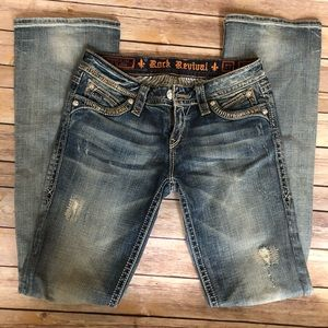 """Rock Revival """"Elaine"""" Bootcut Jeans SZ: 27"""